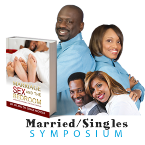 Married and Singles Symposium-bookstore